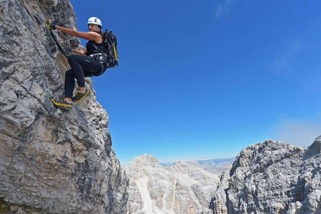 Maximilian Klettersteig : Die besten klettersteige in den dolomiten