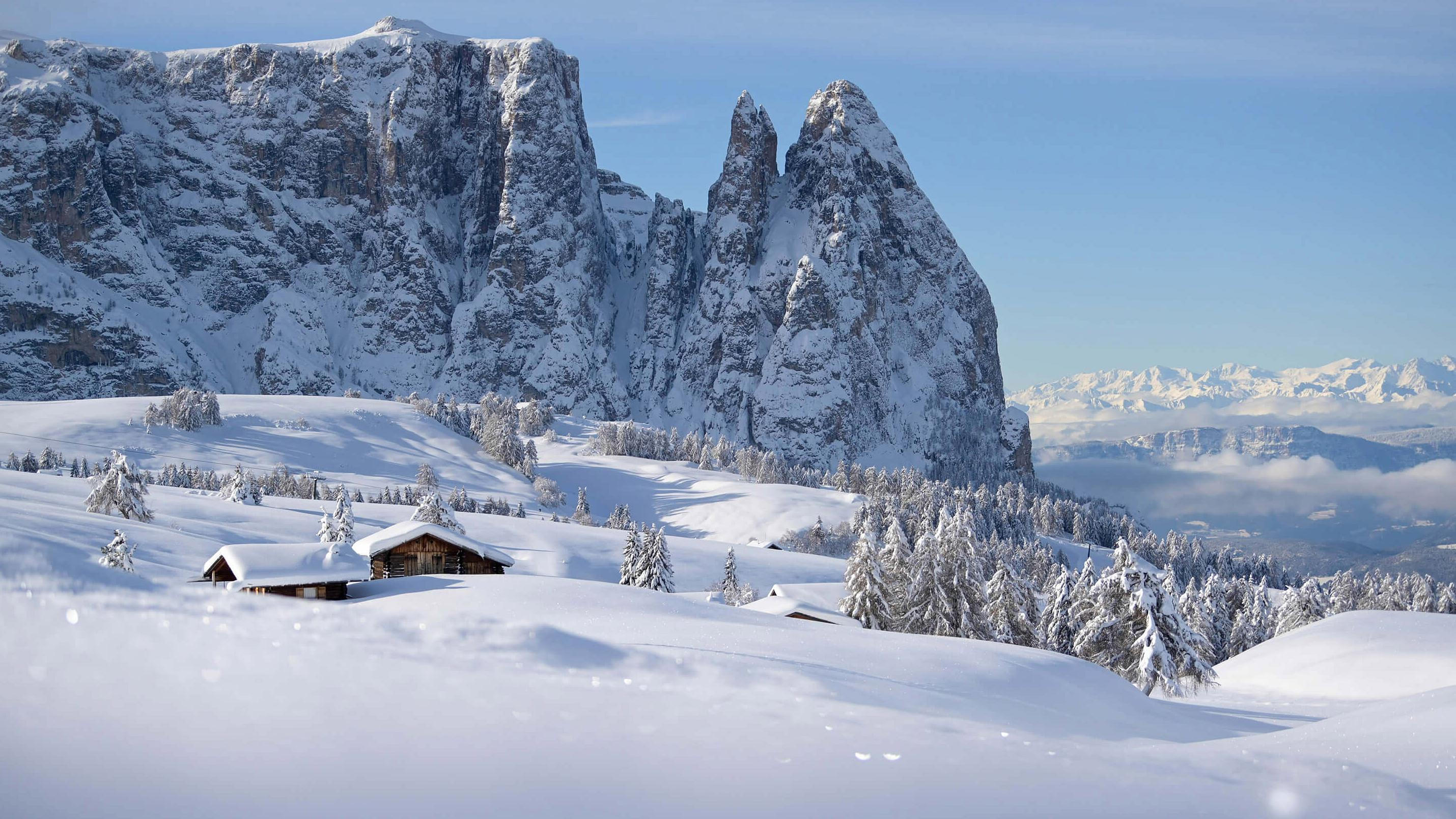 """Holiday on snow in the Dolomites in the hotel for nature lovers"""