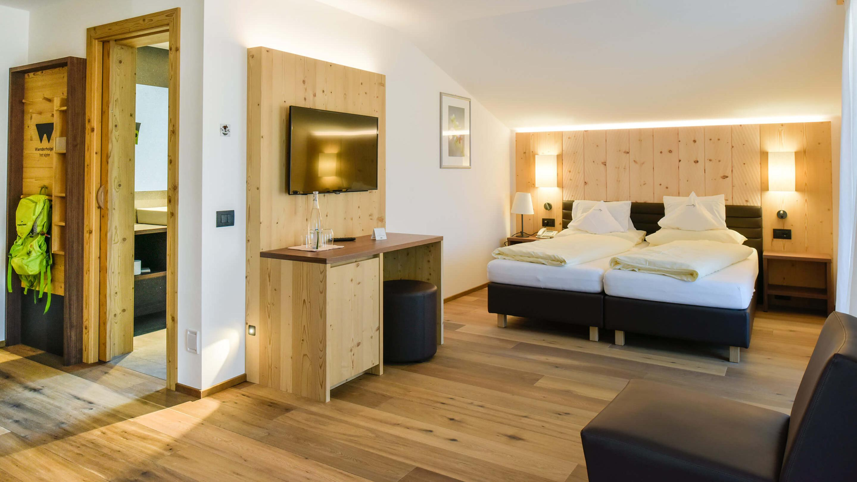 """Natural Suite Alpine Style at Artnatur Dolomites Hotel & Spa"""