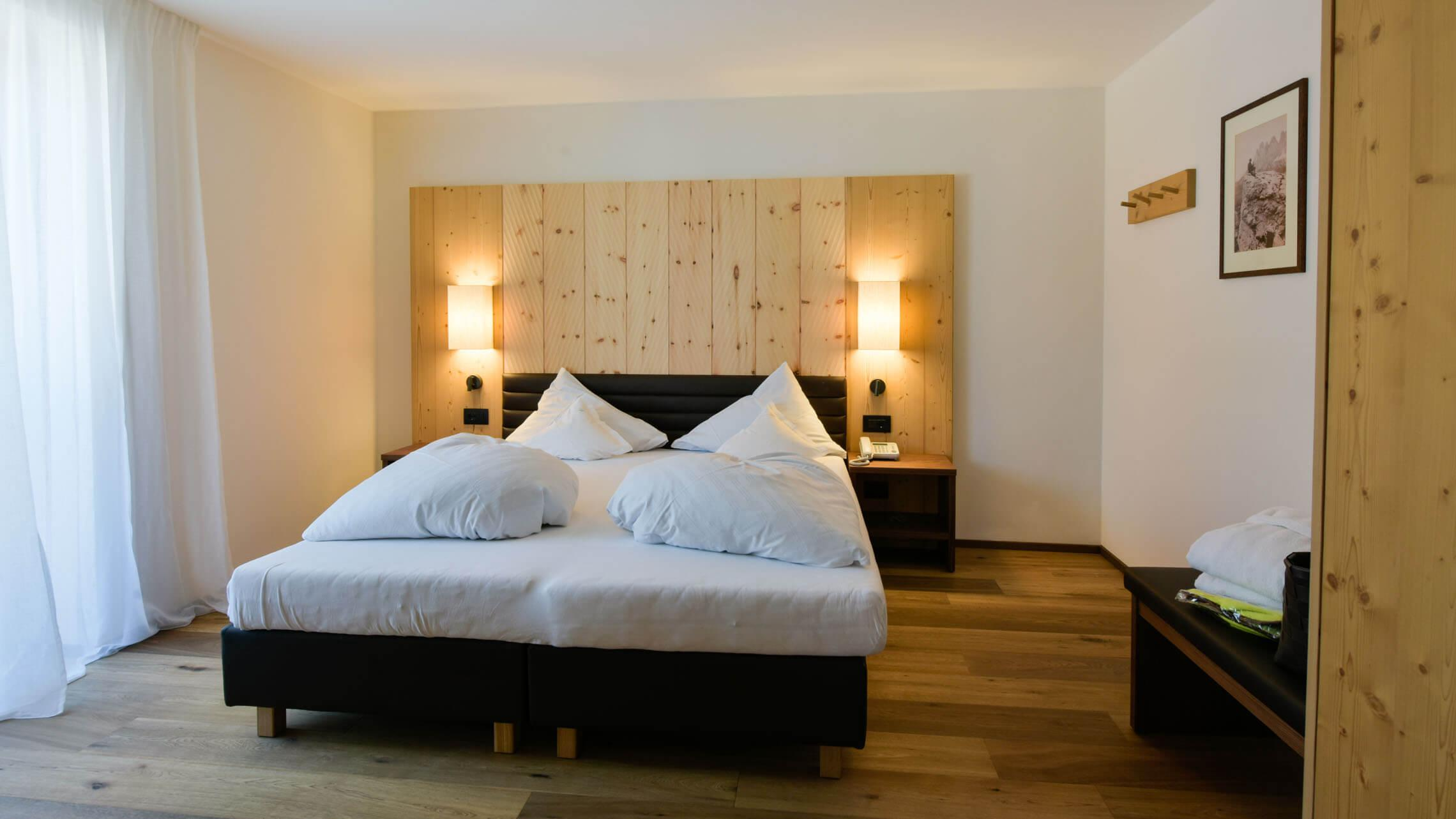 Shinrin yoku and healthy sleep at Wanderhotel Europa